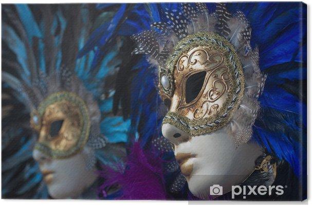 Canvas Carnaval maskers in Venetië - Amusement