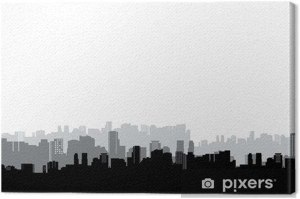 Canvas City - Muursticker