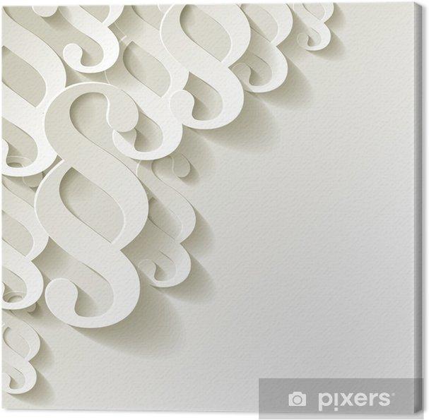 4cfc704d101 Canvas Clausule papier witte hoek