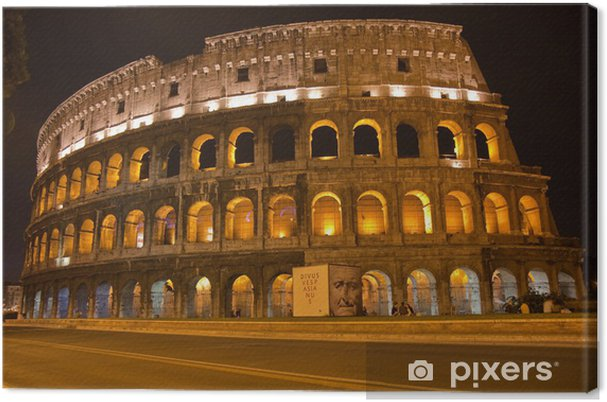 Canvas Coloseum by night - Thema's
