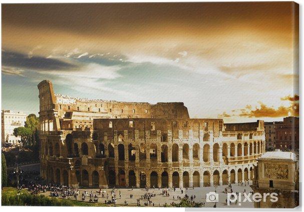 Canvas Colosseum in Rome, Italië - Thema's