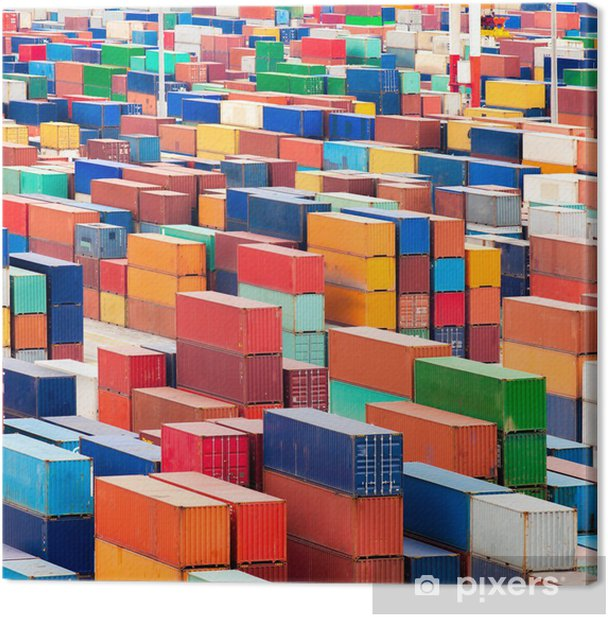 Canvas Container Terminal - Zware Industrie
