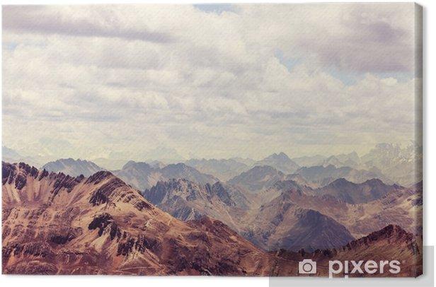 Canvas Cordillera - Landschappen