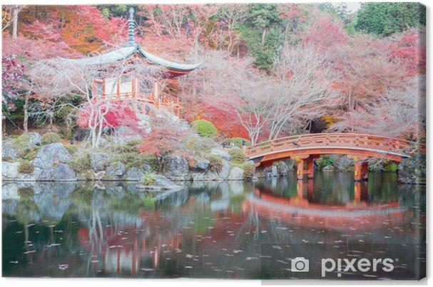 Canvas Daigoji Tempel Kyoto Japan - Japan