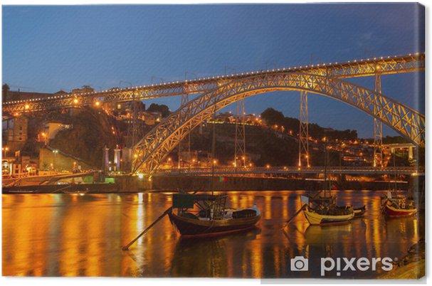 Canvas De brug van Dom Luis, Portugal - Thema's