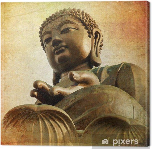 Canvas De Grote Boeddha van Po Lin Klooster - Hong Kong - Stijlen