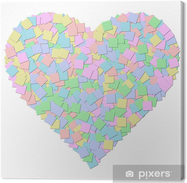5c0f6f6eabc Canvas Doek textuur hartvorm