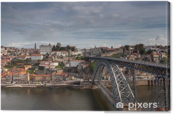 Canvas Dom Luis brug te treden tot de stad Port Gaia - Vakantie