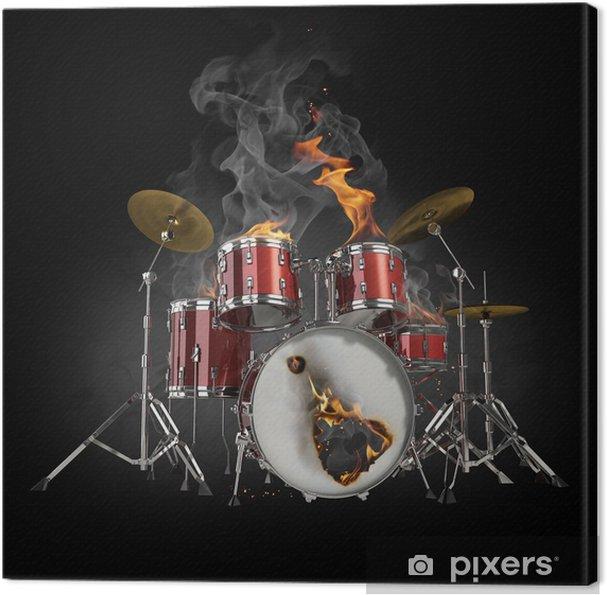 Canvas Drums in brand - Stijlen