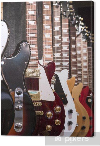 Canvas Elektrische gitaren - Thema's