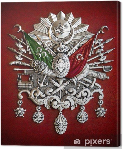 Canvas Embleem van Ottomaanse Rijk - Tekens en Symbolen