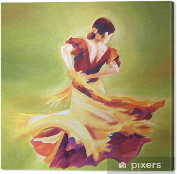 Canvas Flamenco danseres - Thema's