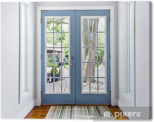 Canvas Franse openslaande glazen deur - Privé Gebouwen