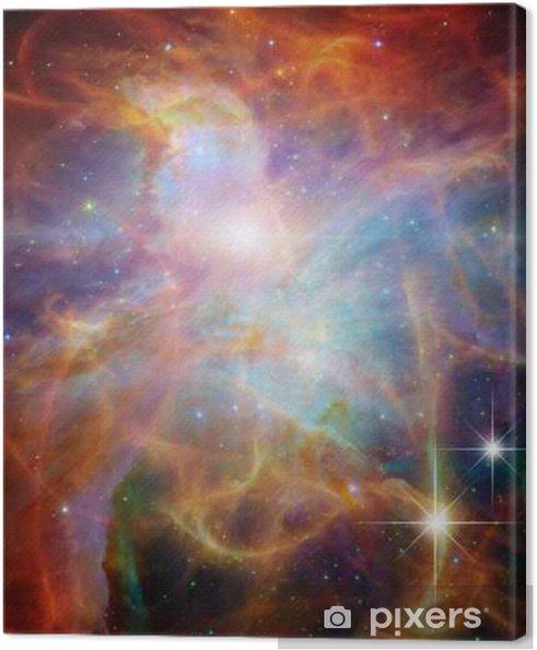 Canvas Galactic Space Elementen van deze afbeelding geleverd door NASA - Wetenschap