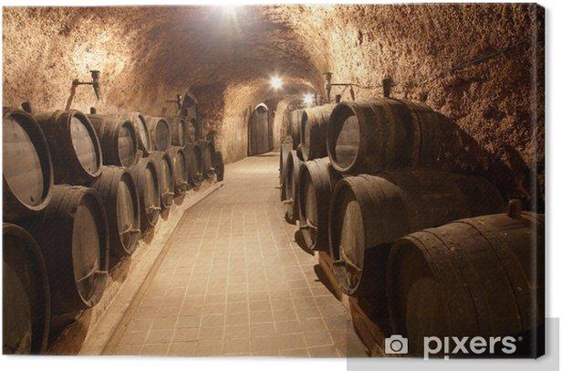 Canvas Gang in wijnmakerij - Stijlen