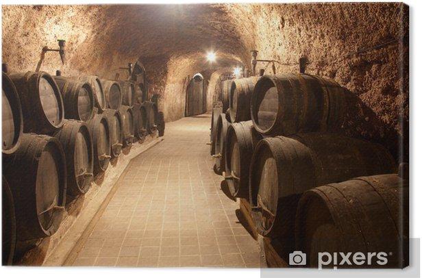 Canvas Gang in wijnmakerij - Monumenten