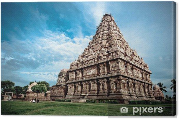 Canvas Gangaikondacholapuram - Monumenten