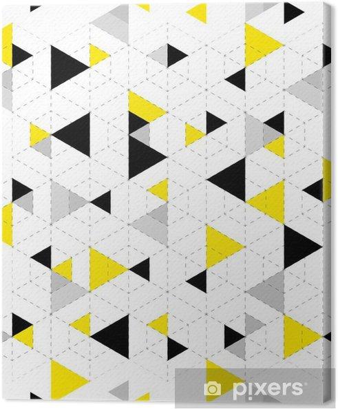 Canvas Geometrische patroon achtergrond - Grafische Bronnen