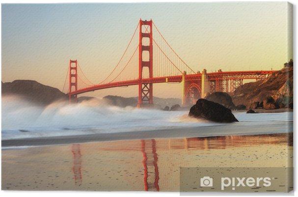 Canvas Golden Gate Bridge, San Francisco - Thema's