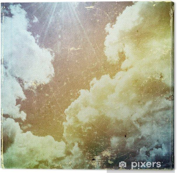 Canvas Grunge papier textuur. abstracte aard achtergrond - Thema's