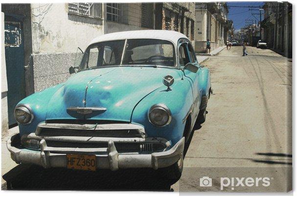 Canvas Havana straat - dwarsproces - Thema's