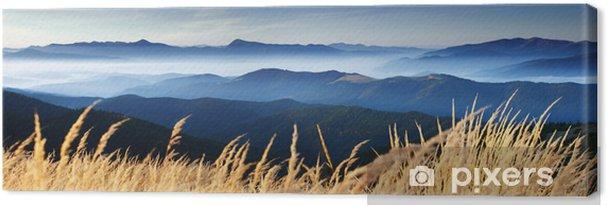 Canvas Herfst in de bergen - Bestemmingen