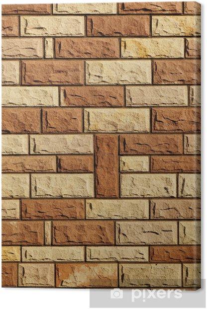 Canvas Hintergrund Buntsandstein Dekor - Zware Industrie