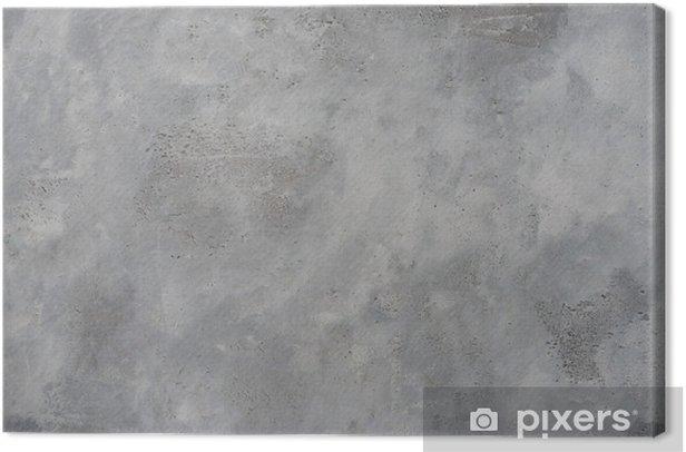 Canvas Hoge resolutie ruwe grijze getextureerde grunge betonnen muur, - Thema's