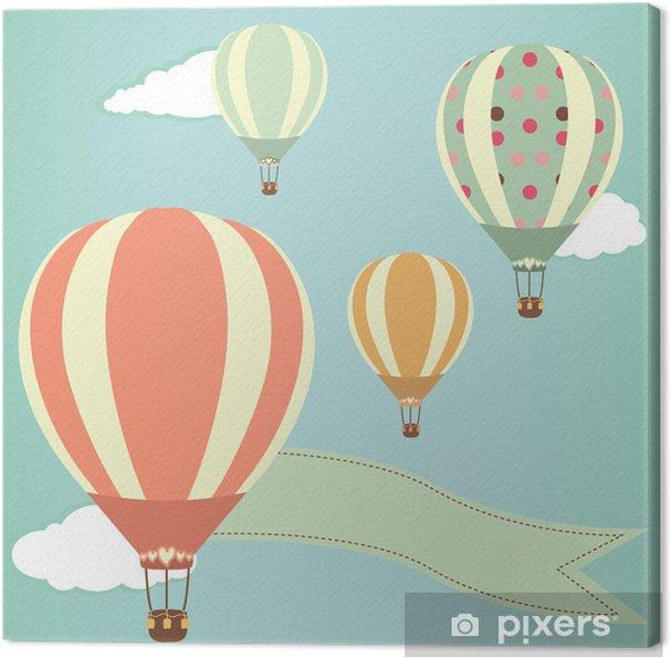 Canvas Hot Air Balloons - Lucht