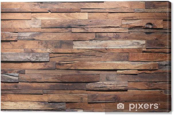 canvas hout houten wand structuur achtergrond • pixers® - we leven