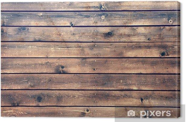 Canvas Houten Raad Plank Panel Bruine Achtergrond, XXXL - Stijlen
