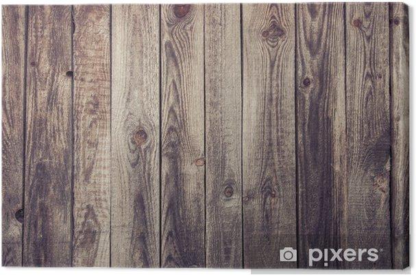 canvas houten wand • pixers® - we leven om te veranderen