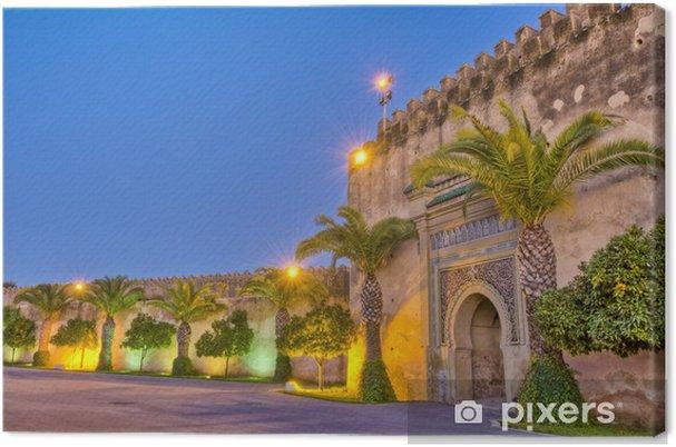 Canvas Imperial City deur in Meknes, Marokko - Thema's