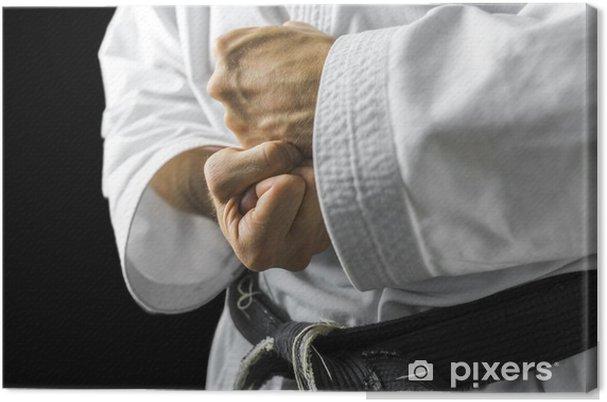 Canvas Karate handen - Thema's