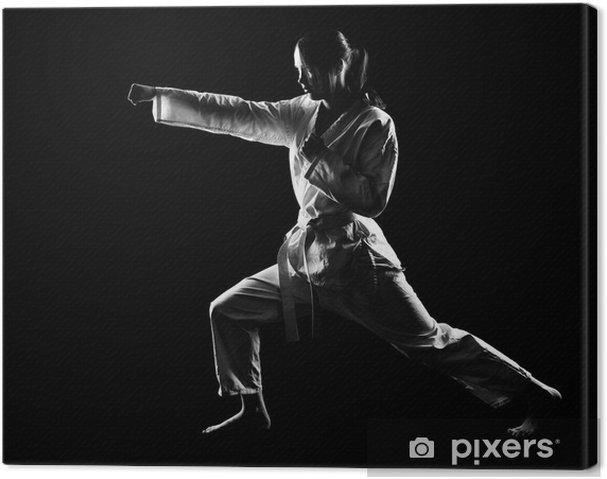 Canvas Karatemeisje - Thema's