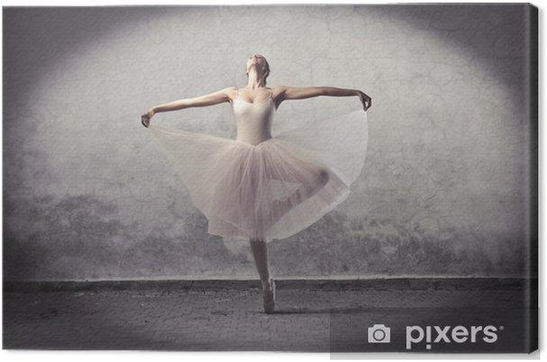 Canvas Klassieke ballerina - Thema's