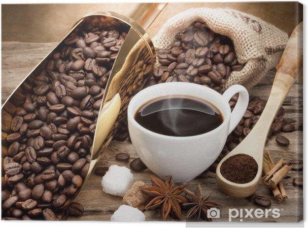 Canvas Koffie -