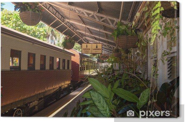Canvas Kuranda Scenic Rail station, Queensland, Australië - Oceanië