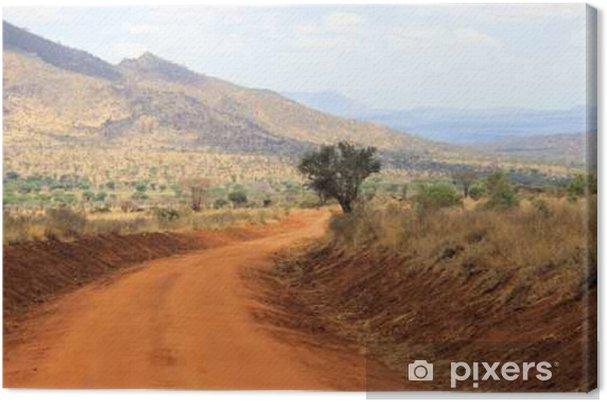 Canvas Landschap in Kenia - Reizen