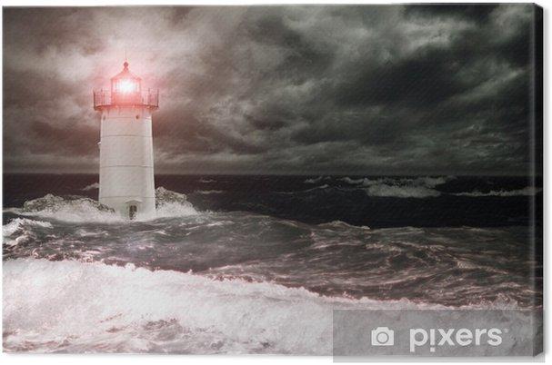 Canvas Lighthouse - Vuurtoren