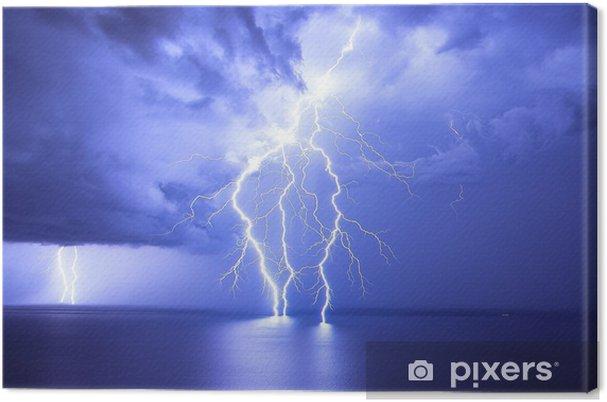 Canvas Lightning - Natuurrampen