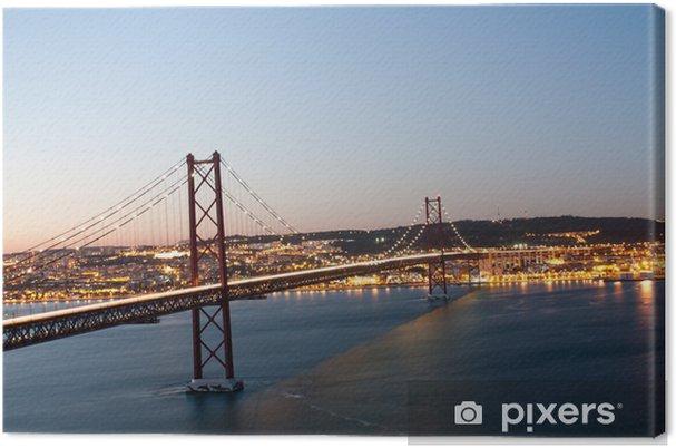 Canvas Lisboa - Europese steden