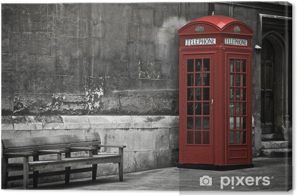 Canvas Londen Booth - Thema's