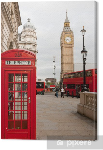 Canvas Londen, Engeland - Thema's