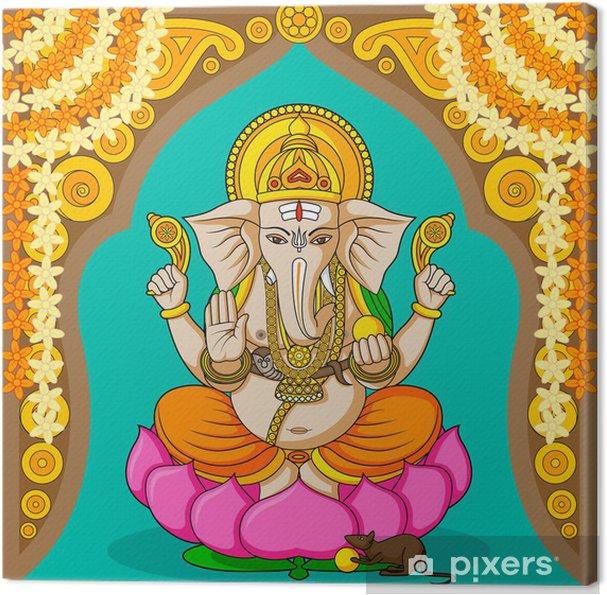 Canvas Lord Ganesha - Openbare Gebouwen