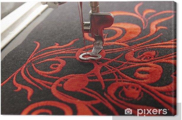 Spiksplinternieuw Canvas Machinaal borduren • Pixers® - We leven om te veranderen XE-29
