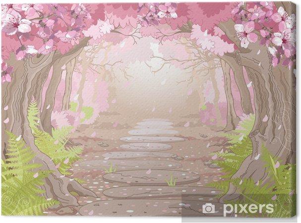 Canvas Magic voorjaar bos - Thema's
