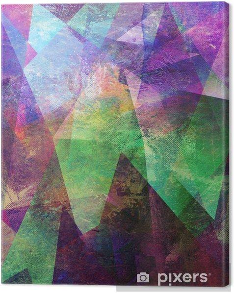 Canvas Malerei graphik abstrakt - Gevoelens, Emoties en Staten van Geest