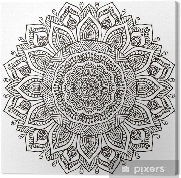 Canvas Mandala - Tekens en Symbolen
