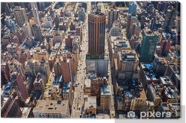 Canvas Manhattan, New York. USA. - Amerikaanse steden